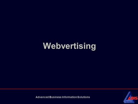 Advanced Business Information Solutions Webvertising.