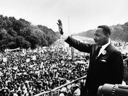 """I Have a dream….."" 28 augustus 1963"