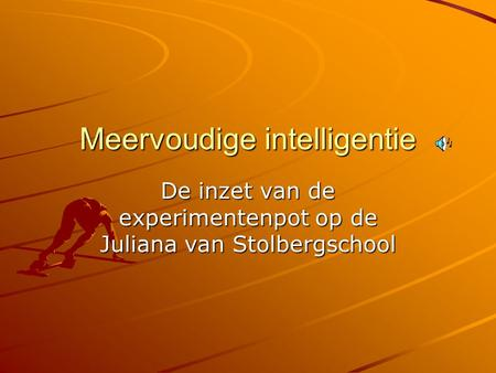 Meervoudige intelligentie