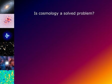 Is cosmology a solved problem?. Bepaling van Ω DM met behulp van rotatie krommen.