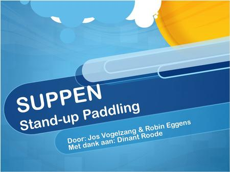 SUPPEN Stand-up Paddling
