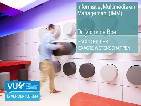Informatie, Multimedia en Management (IMM)