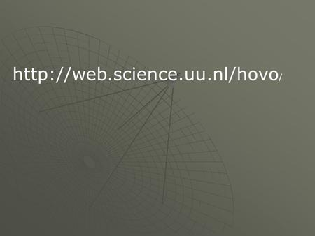 Http://web.science.uu.nl/hovo/.