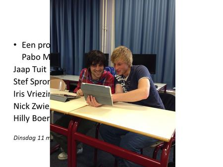 Do-learning Een project van Stenden Hogeschool