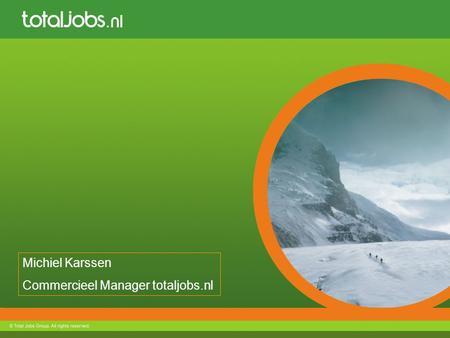 Commercieel Manager totaljobs.nl