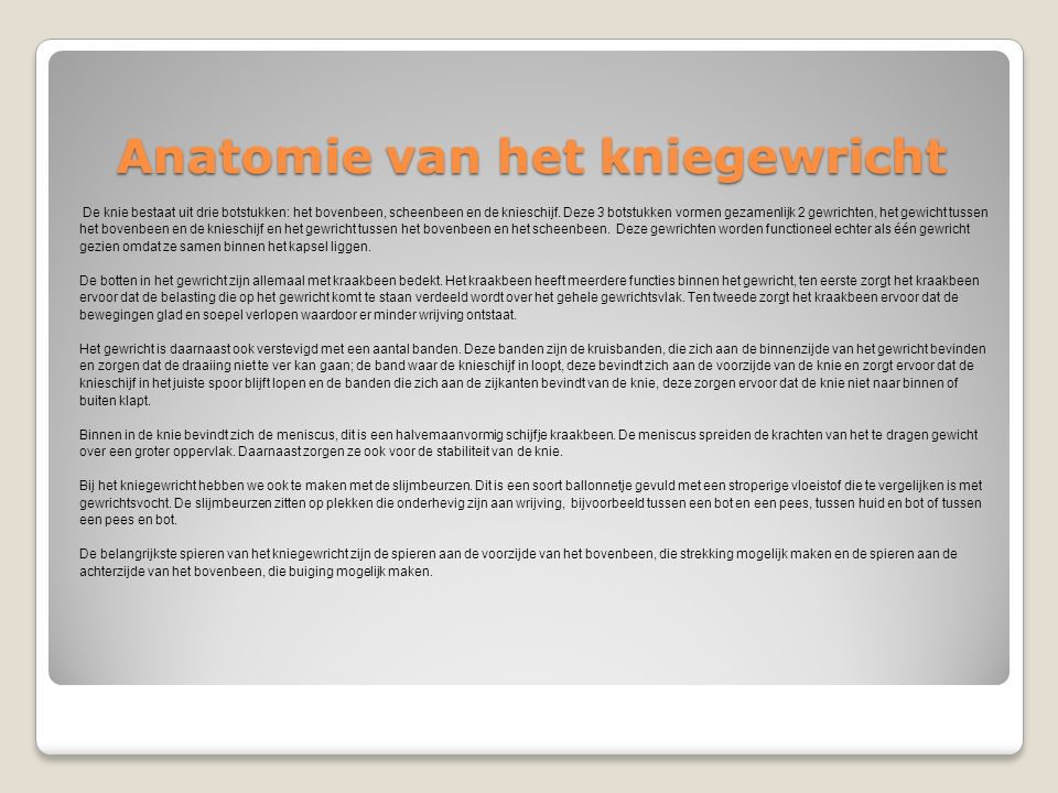 "Thuisoefenprogramma ""Anterior Knee Pain"" - ppt download"