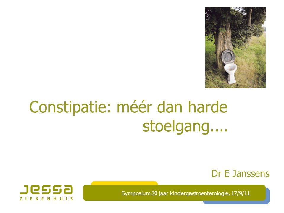Constipatie Méér Dan Harde Stoelgang Ppt Download