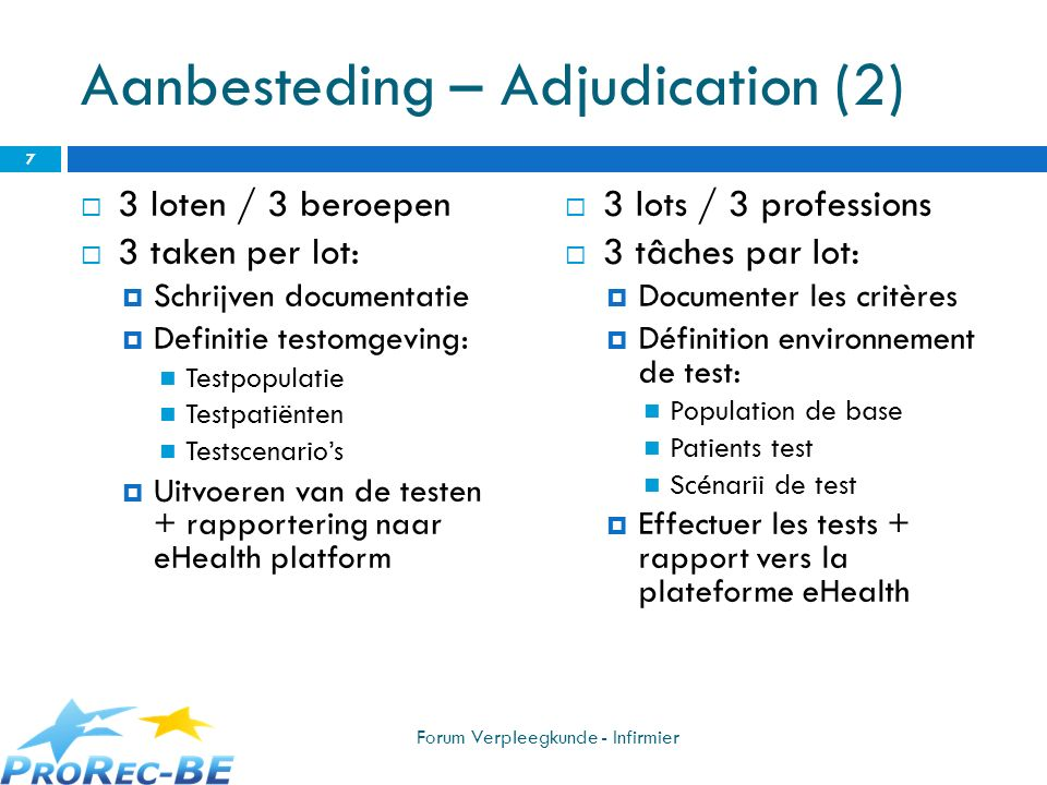 Aanbesteding – Adjudication (2)