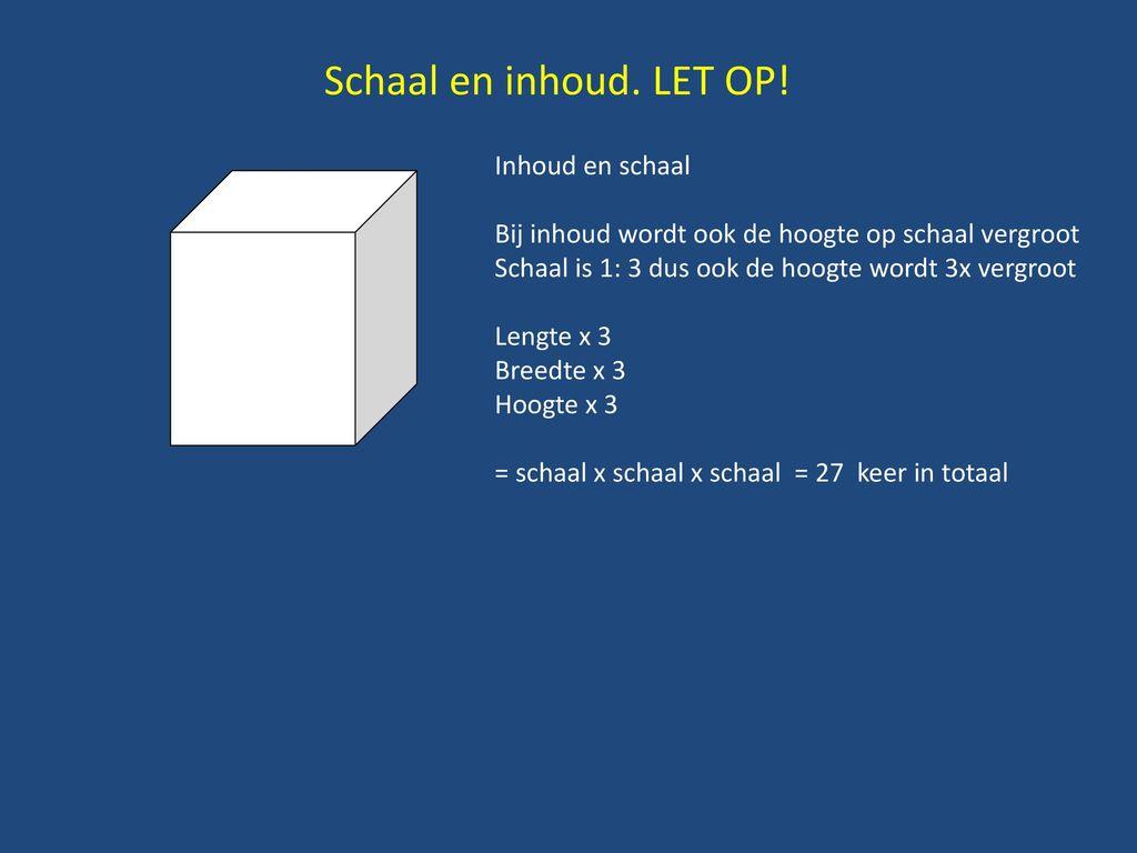 Herhalen Schaal Schaal Is Een Verhouding Ppt Download