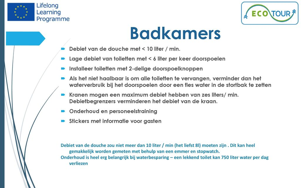 Waterverbruik Toilet Doorspoelen.Water Management Ppt Download