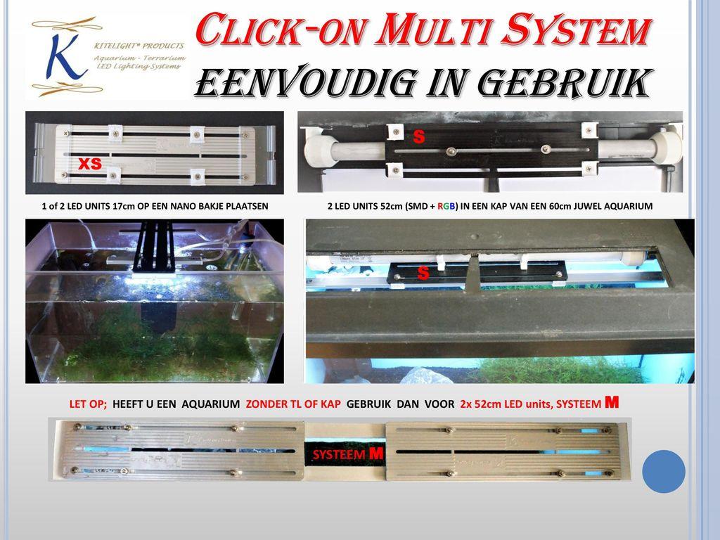 Click-on Multi System ONTDEK HET NIEUWE UNIEKE LED MONTAGE SYSTEEM ...