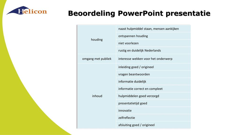 wat zegt een spanjaard over een mooie powerpoint presentatie