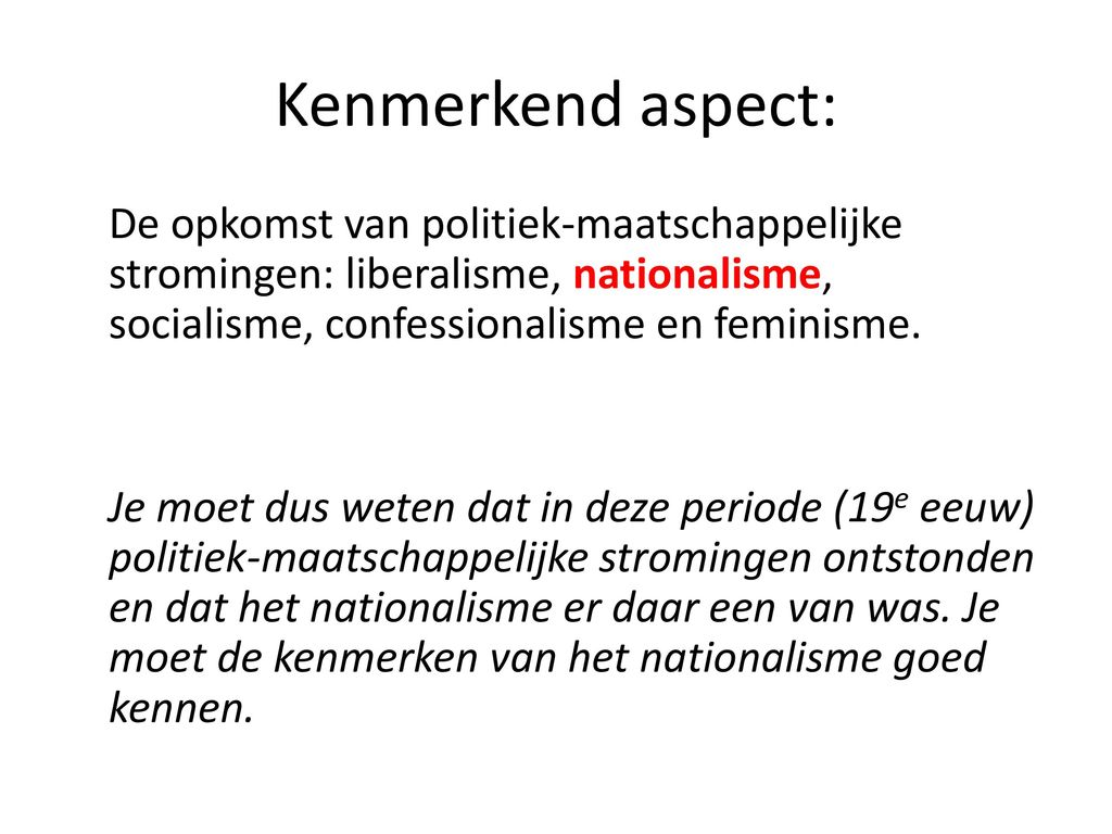 Paragraaf 2 Nationalisme Ppt Download