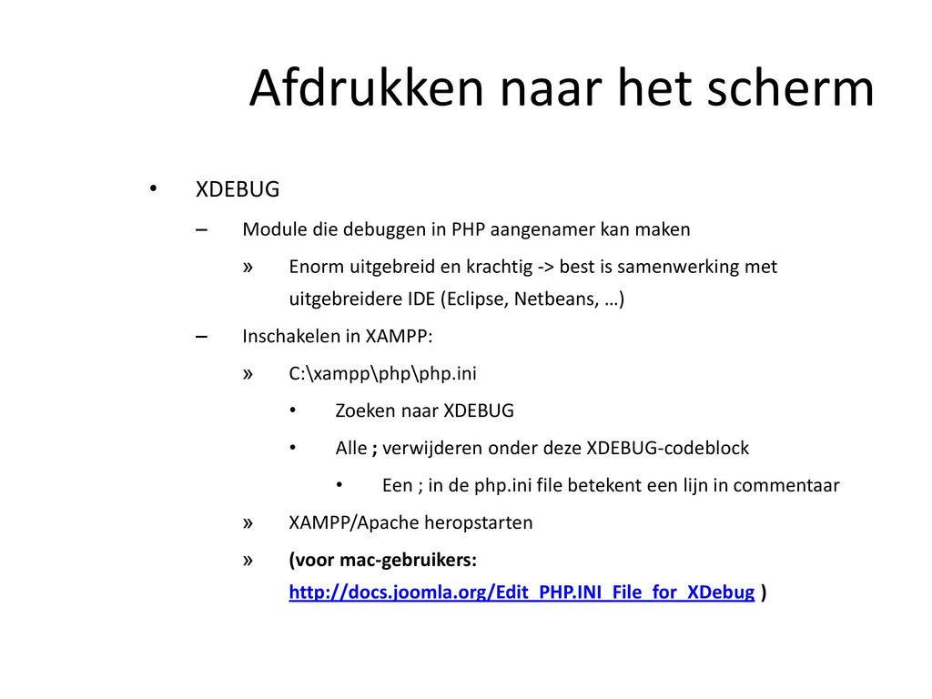 Web Backend Todo Stringarray Functions Beter Uitwerken 17112013