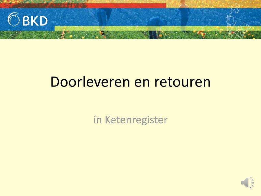 1a7a99c78d9 Doorleveren en retouren - ppt download