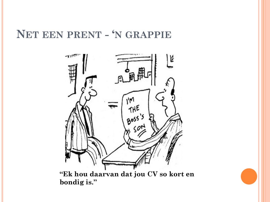 Net een prent - 'n grappie