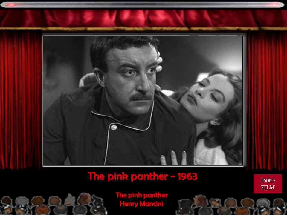 The pink panther INFO FILM The pink panther Henry Mancini