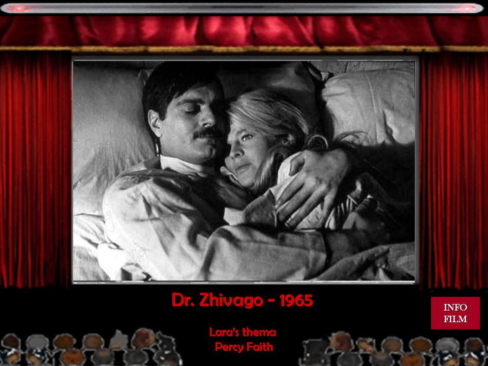 Dr. Zhivago INFO FILM Lara's thema Percy Faith
