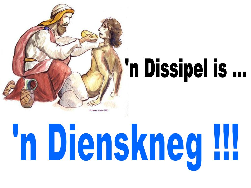 n Dissipel is ... n Dienskneg !!!