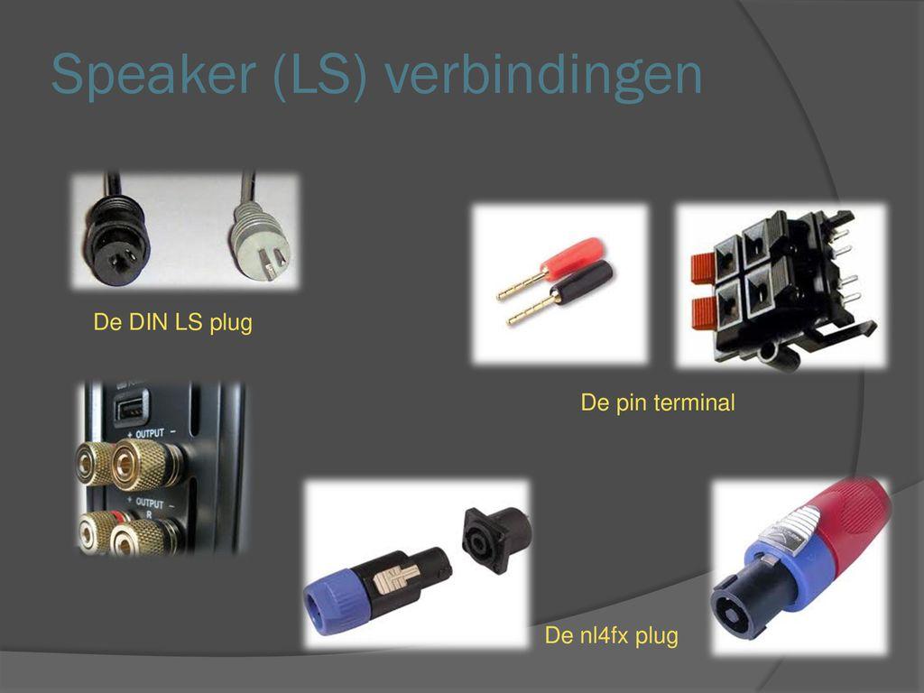Pluggen Kabels Connectoren Ppt Download