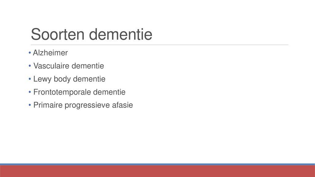communicatie bij dementie - ppt download