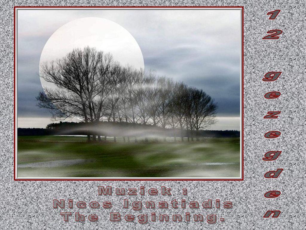 12 Gezegden Muziek Nicos Ignatiadis The Beginning Ppt