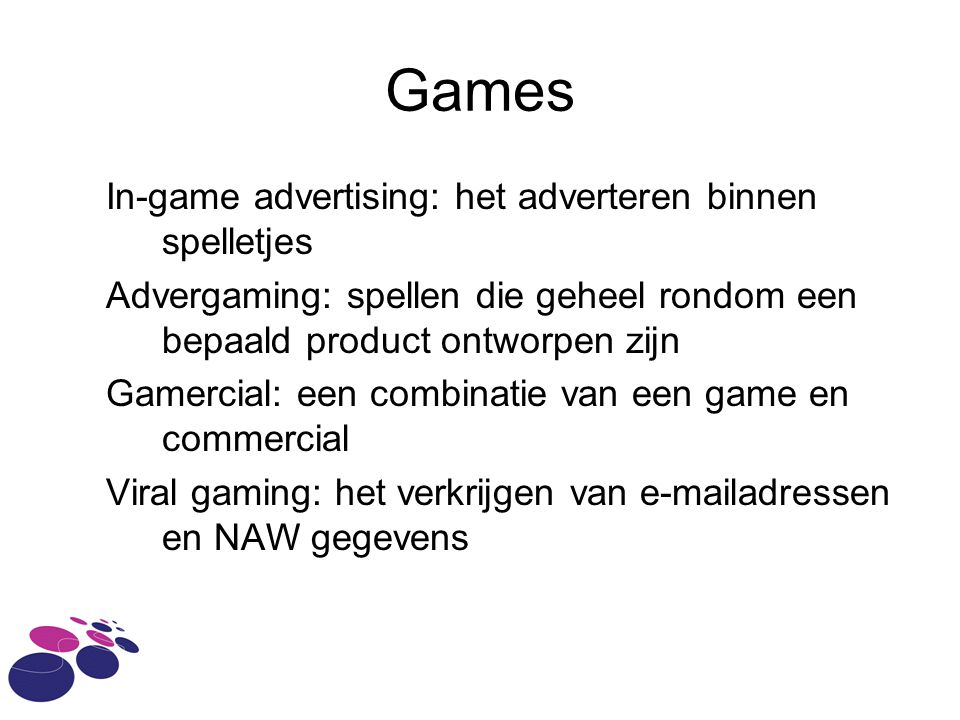 Games In-game advertising: het adverteren binnen spelletjes