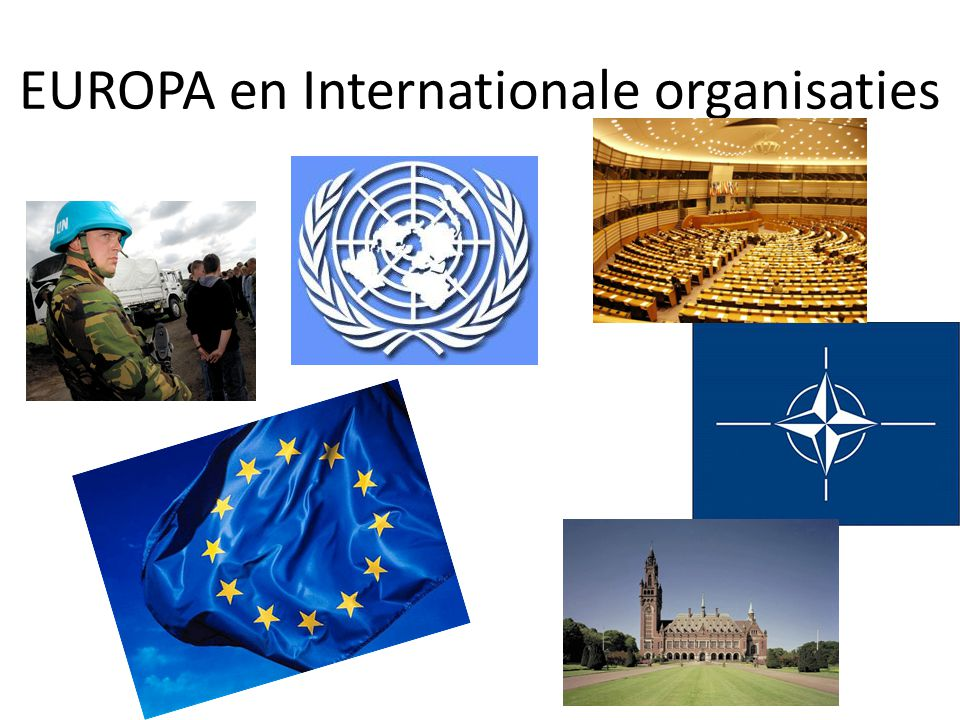 EUROPA en Internationale organisaties
