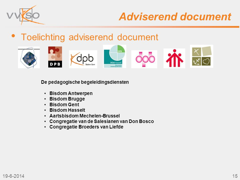 Adviserend document Toelichting adviserend document