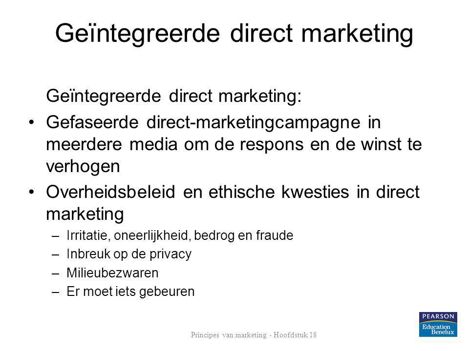 Geïntegreerde direct marketing