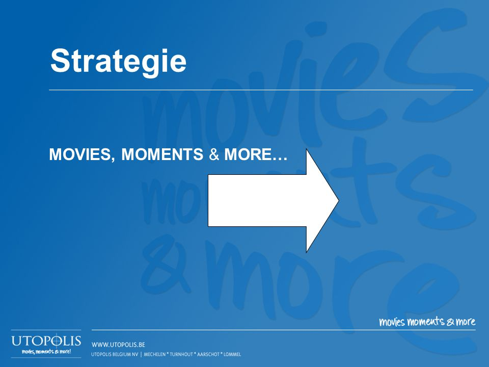Strategie MOVIES, MOMENTS & MORE…
