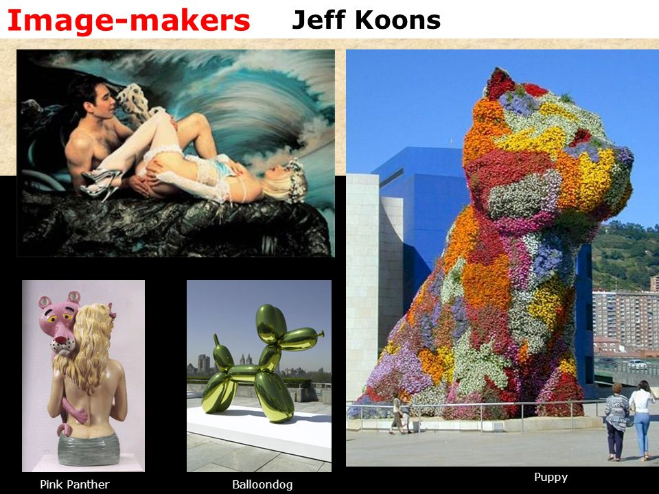Image-makers Jeff Koons Puppy Pink Panther Balloondog