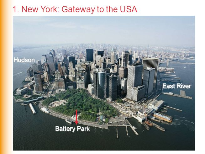 1. New York: Gateway to the USA
