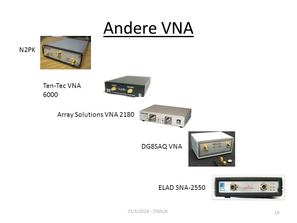 Andere VNA N2PK Ten-Tec VNA 6000 Array Solutions VNA 2180 DG8SAQ VNA