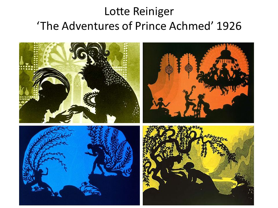 Lotte Reiniger 'The Adventures of Prince Achmed' 1926