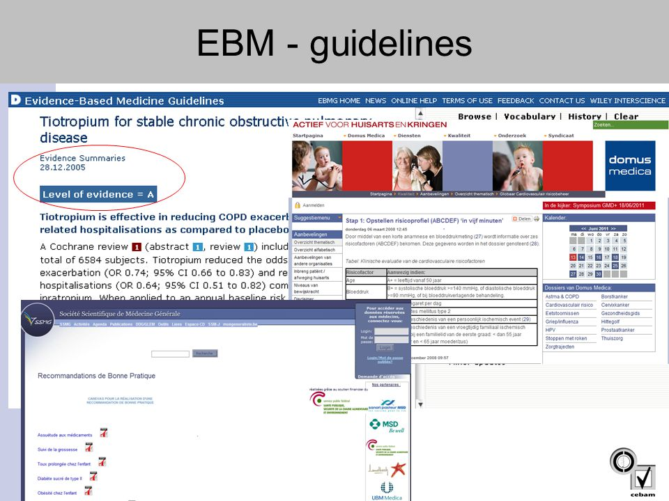 EBM - guidelines