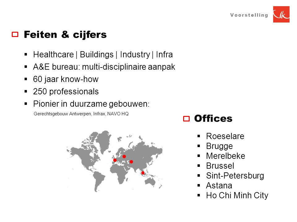 Feiten & cijfers Offices Healthcare | Buildings | Industry | Infra