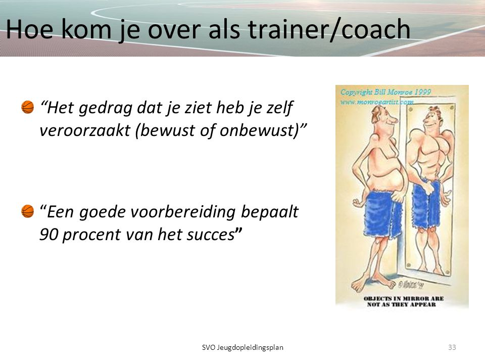 Hoe kom je over als trainer/coach