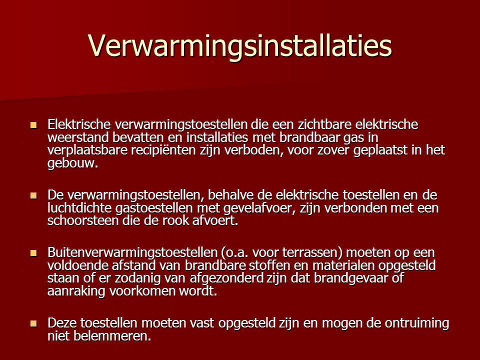 Verwarmingsinstallaties