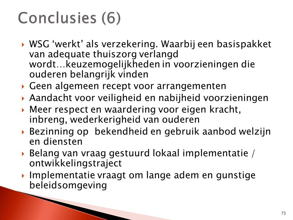 Conclusies (6)