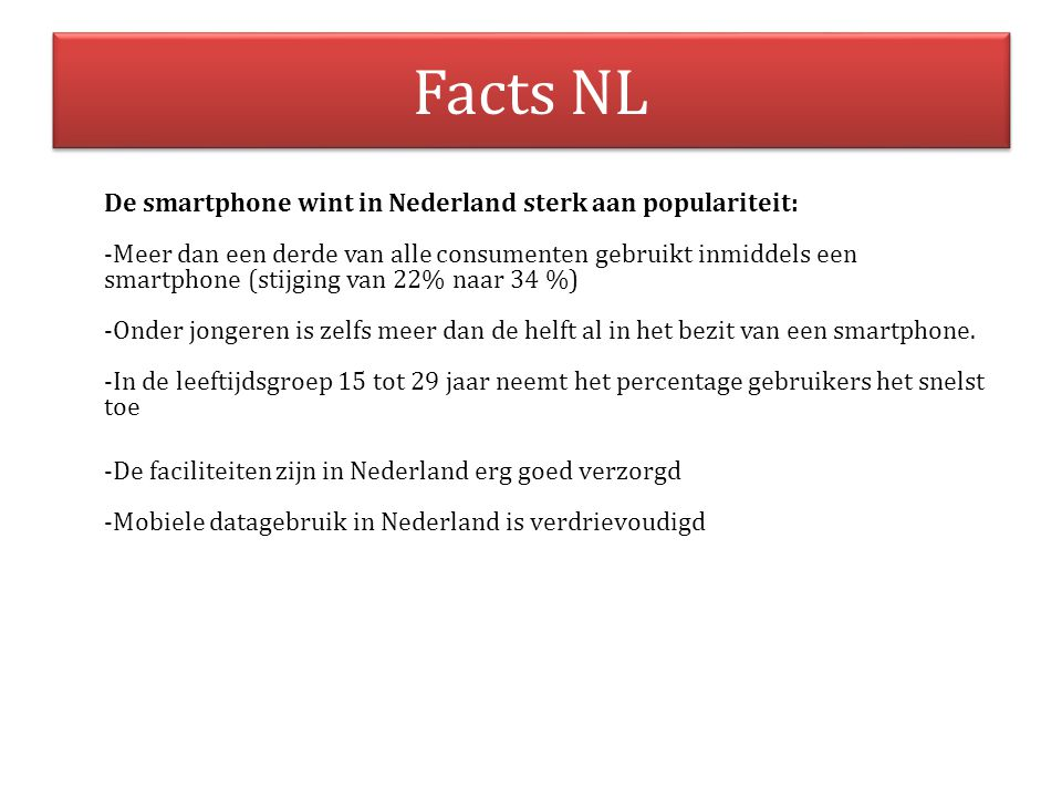 Facts NL