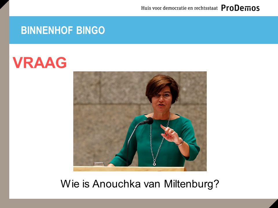 Wie is Anouchka van Miltenburg