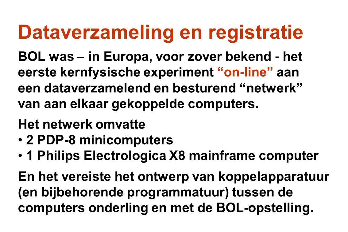 Computernetwerk on-line configuratie