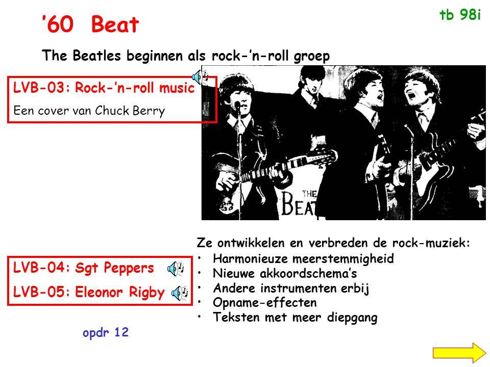 '60 Beat tb 98i The Beatles beginnen als rock-'n-roll groep
