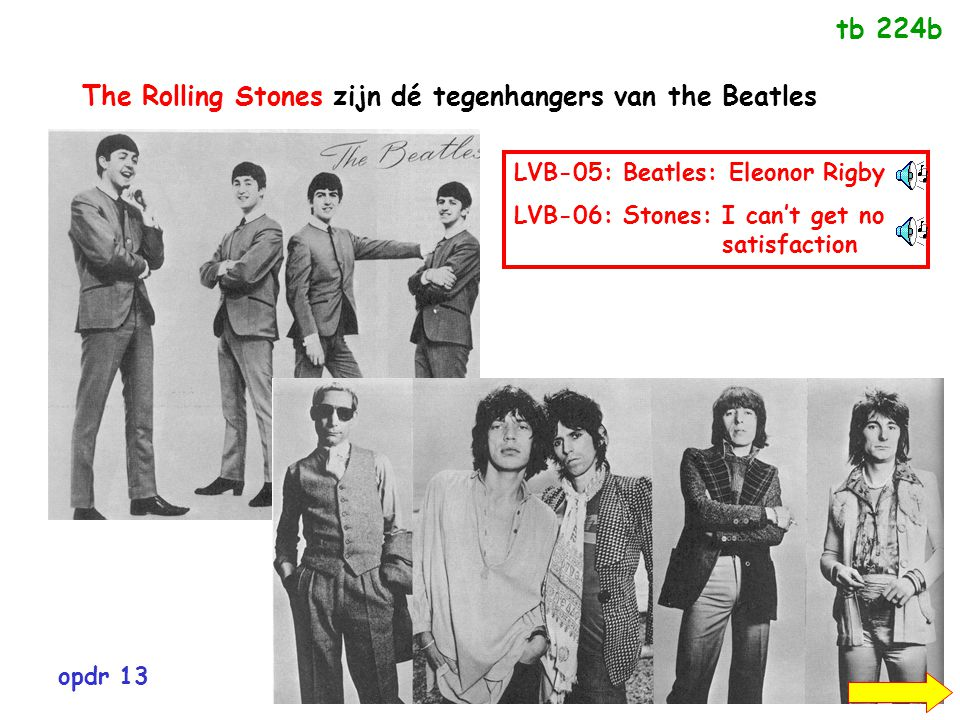 The Rolling Stones zijn dé tegenhangers van the Beatles