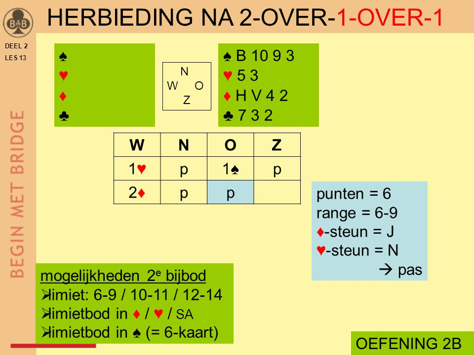 HERBIEDING NA 2-OVER-1-OVER-1