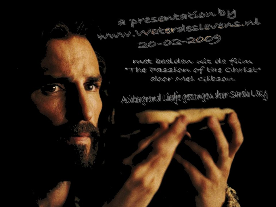 The Passion of the Christ door Mel Gibson
