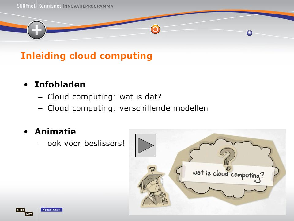 Inleiding cloud computing