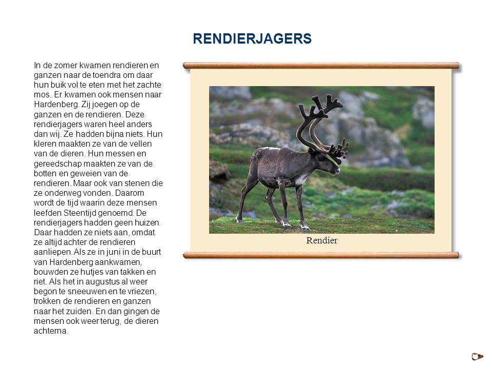 RENDIERJAGERS Rendier
