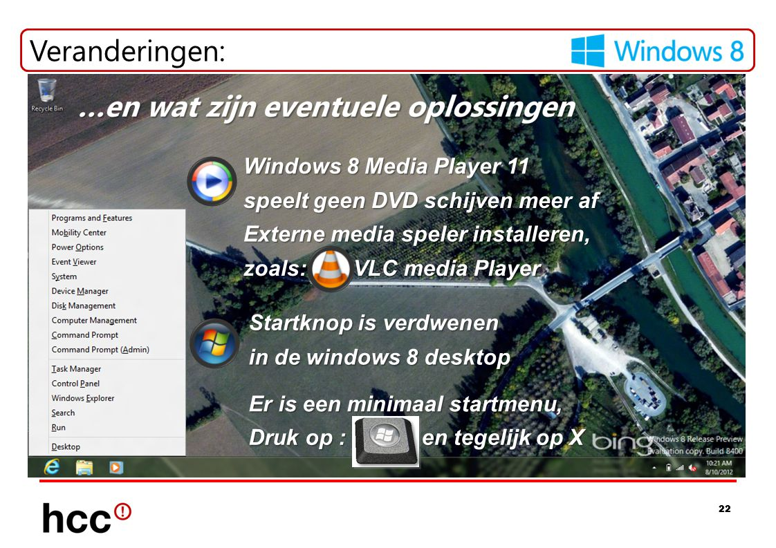 Veranderingen: Windows 8 Media Player 11